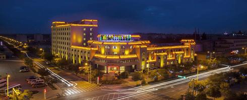 瓜州四星级酒店――融金大酒店
