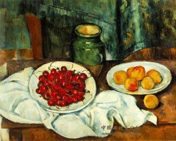法国画家保罗·塞尚作品