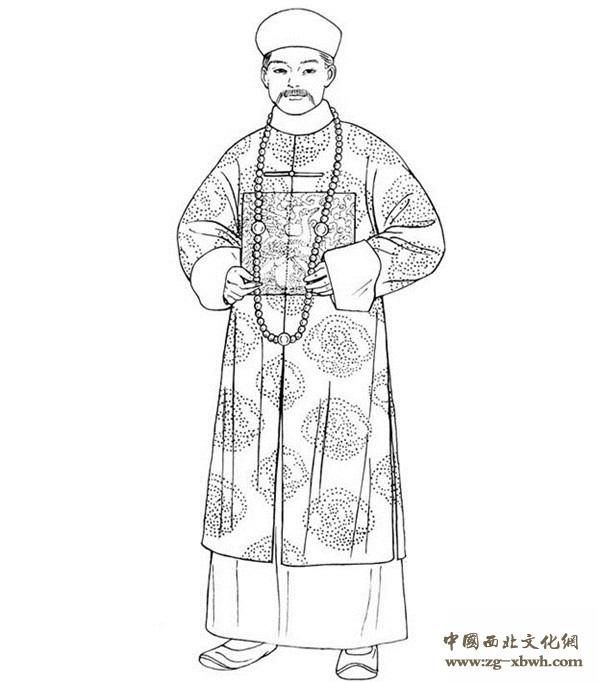 中国古代传统服饰