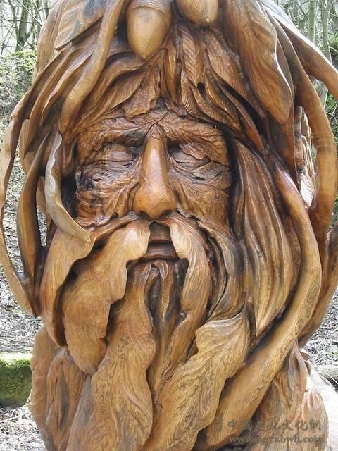 树木雕刻 (7)