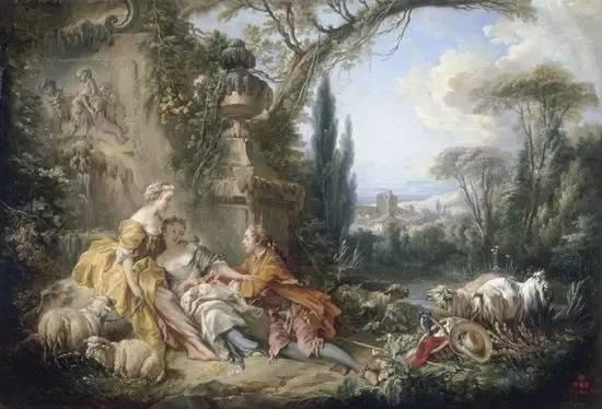 弗拉戈纳尔被誉为情色大师,他通过独特的个人风格以及高超的绘画