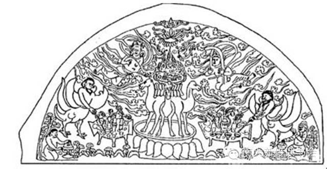 陕西面条手绘图