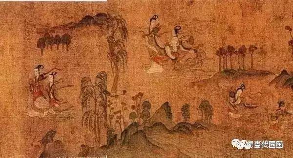 """在中国画的三大主题——人物、山水、花鸟中,山水画所占的比例是最重的。 画中的山山水水看似熟悉,但要真正领会其中的美,并不简单。 欣赏山水画,不是为了看风景 中国山水画是中国艺术的重要载体,更是中国文化的重要组成部分。 山水画中的""""山水""""二字绝不是简单的风景概念,它包含着中国文化的诸多含义和象征。比如:山是阳、水是阴,象征着阴阳互补;山是刚、水是柔,体现了刚柔相济;山是实、水是虚,代表的是中国文化中虚实相生的概念。 不过,山水画在诞生之初,并没有被赋予这样深层"""
