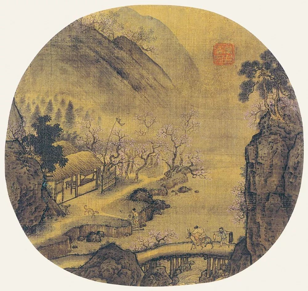 """距今大约四五千年的远古时代,绘画艺术是混沌一片的。由于此时的绘画正处于生发的初级阶段,故而十分简单、幼稚,内容和样式也并不丰富。岩画中的人(神)、飞鸟、走兽,反映了那个时代的人类智慧和绘画水平。人类绘画的童年,一片天真烂漫,朦胧混沌。《太史经》云:""""溟涬蒙鸿,如鸡子状,名曰混沌。""""曹植在《迁都赋》中言:""""纷混沌而未分,与禽兽乎无别。""""   为什么要研究""""中国画""""的外延   随着时间的推移,绘画也在不断发展并逐渐丰富,至晋代达到足以"""
